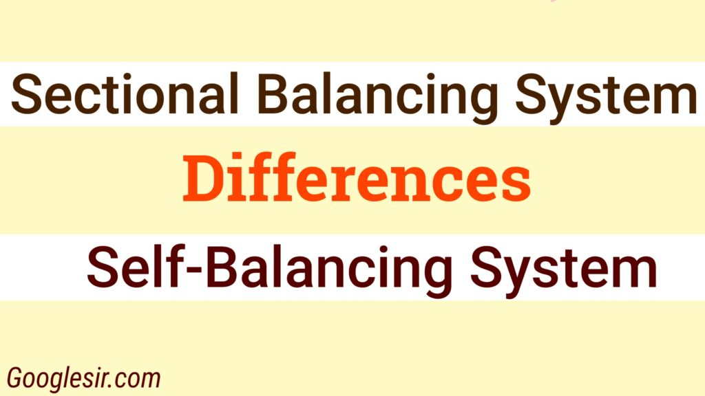 differences between sectional and self-balancing ledger system