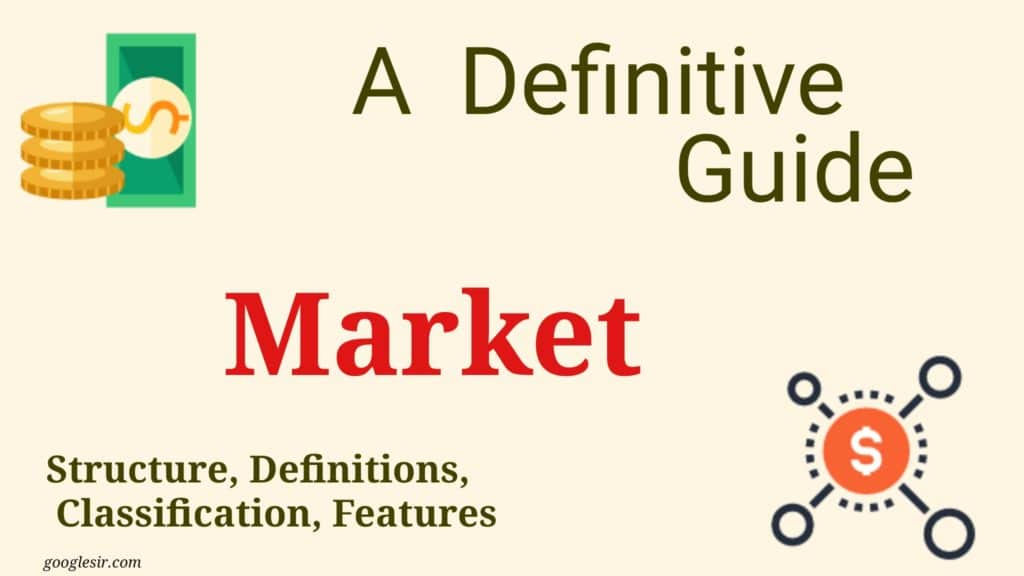 features of market economy system