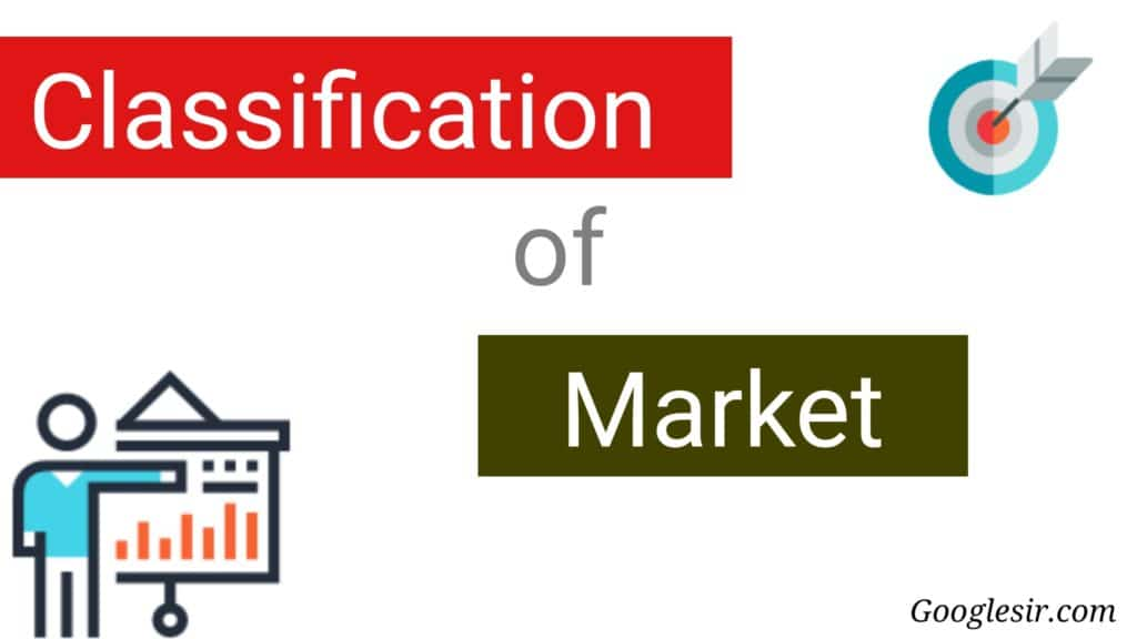 Classifications of Market in Economics
