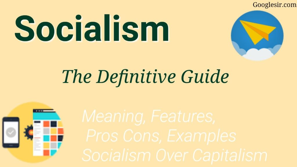 pros and cons of socialism economy