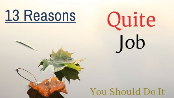 good and acceptable reasons for leaving job