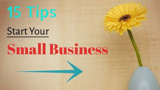 tips for starting a small business with no money