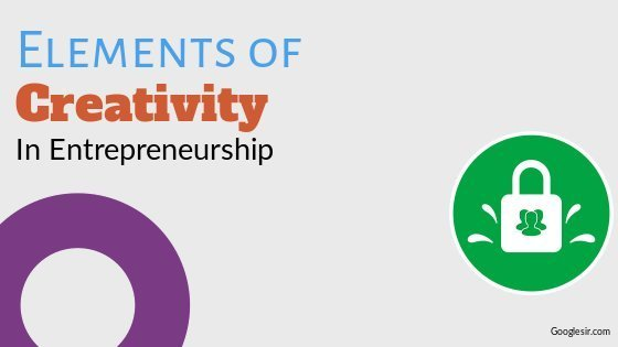 elements of creativity in entrepreneurship