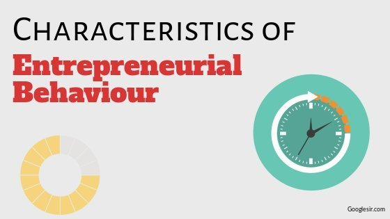 characteristics of entrepreneurial behaviour
