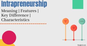 Intrapreneurship: Meaning Concept Features Differences