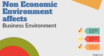 Non-Economic Environments Affecting Business Environment