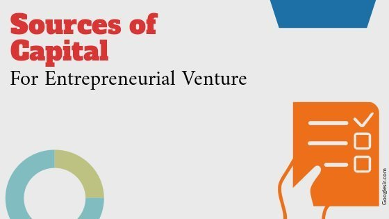 Sources of capital for entrepreneurial venture