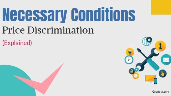conditions for price discrimination