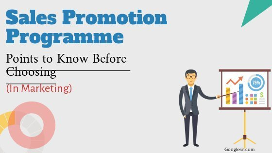 Choose Right Sales Promotion Programs