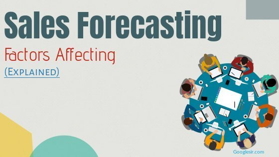 factors affecting sales forecasting