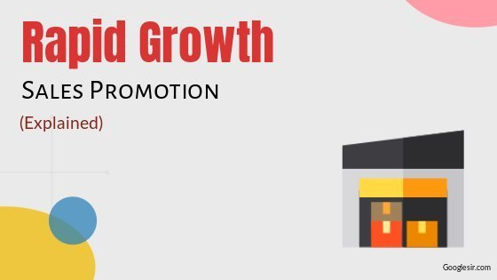 factors responsible for rapid growth of sales promotion
