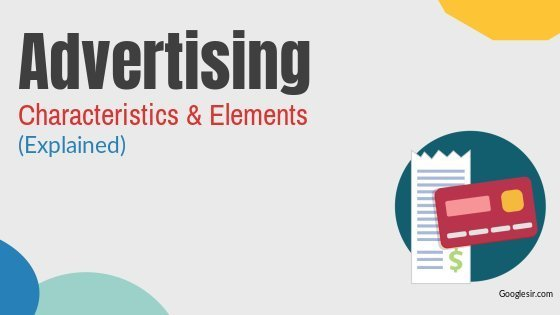 features of advertising