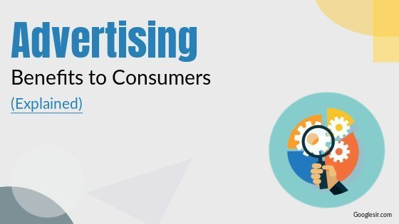 importance of advertising to consumers