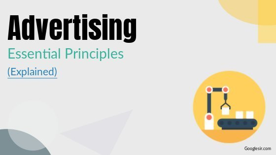principles of effective advertising