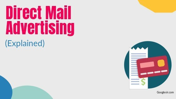 types of direct mail advertising