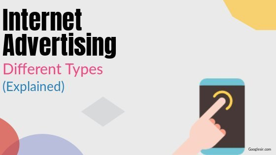 types of online advertising techniques