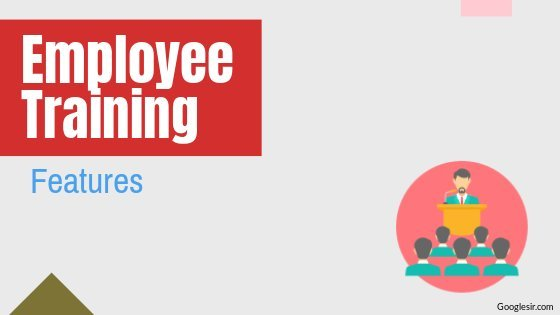 features of employee training programs