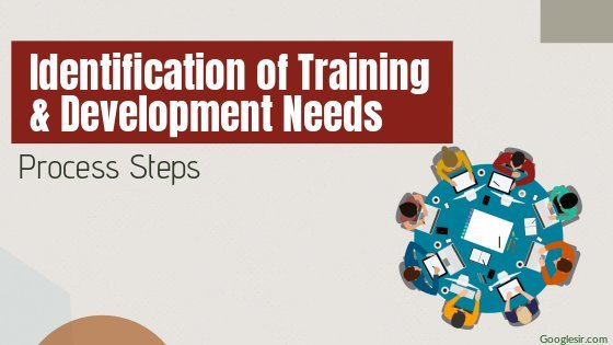 steps in identification of training and development need