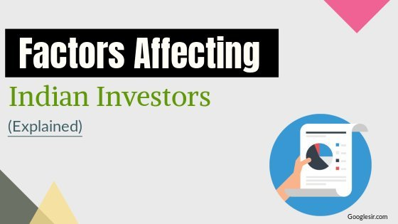 factors affecting investment decisions of investors