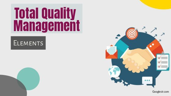 elements of total quality management system