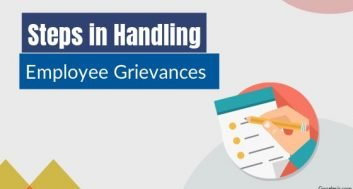 What are the procedure of grievance handling?