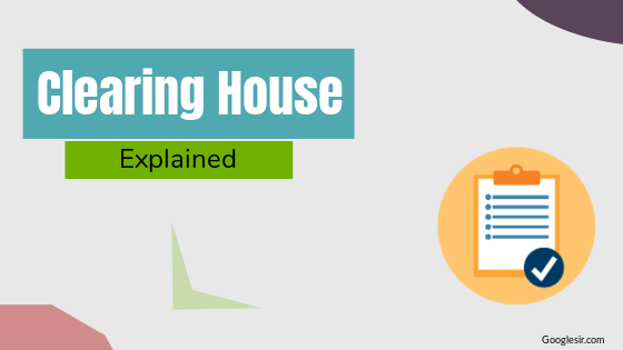 what is clearing house in banking